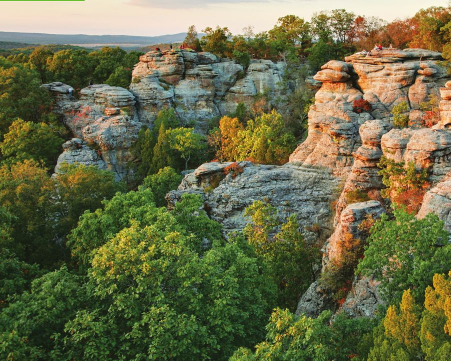 a guide to the shawnee national forest illinoistimes - Shawnee National Forest Garden Of The Gods