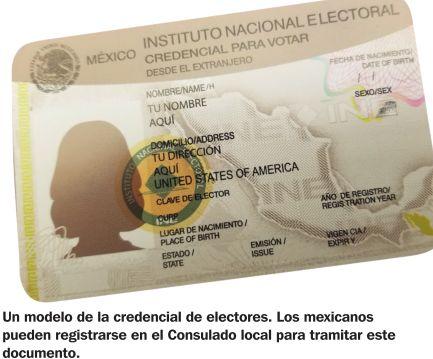 Consulado de México recuerda a mexicanos que deben
