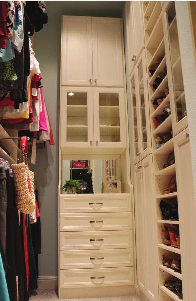U201cA Place For Everything, And Everything In Its Placeu201d Holds True With The  Custom Drawers Divided Into Separate Cubbies For Things Like Lingerie And  Jewelry.