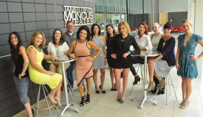 The Lafayette tastemakers behind the 2015 INDStyle Awards from left IND Media's Robin Hebert, Aileen Dauterive of Park Lane, Amy Chappuis of Little Town, ...
