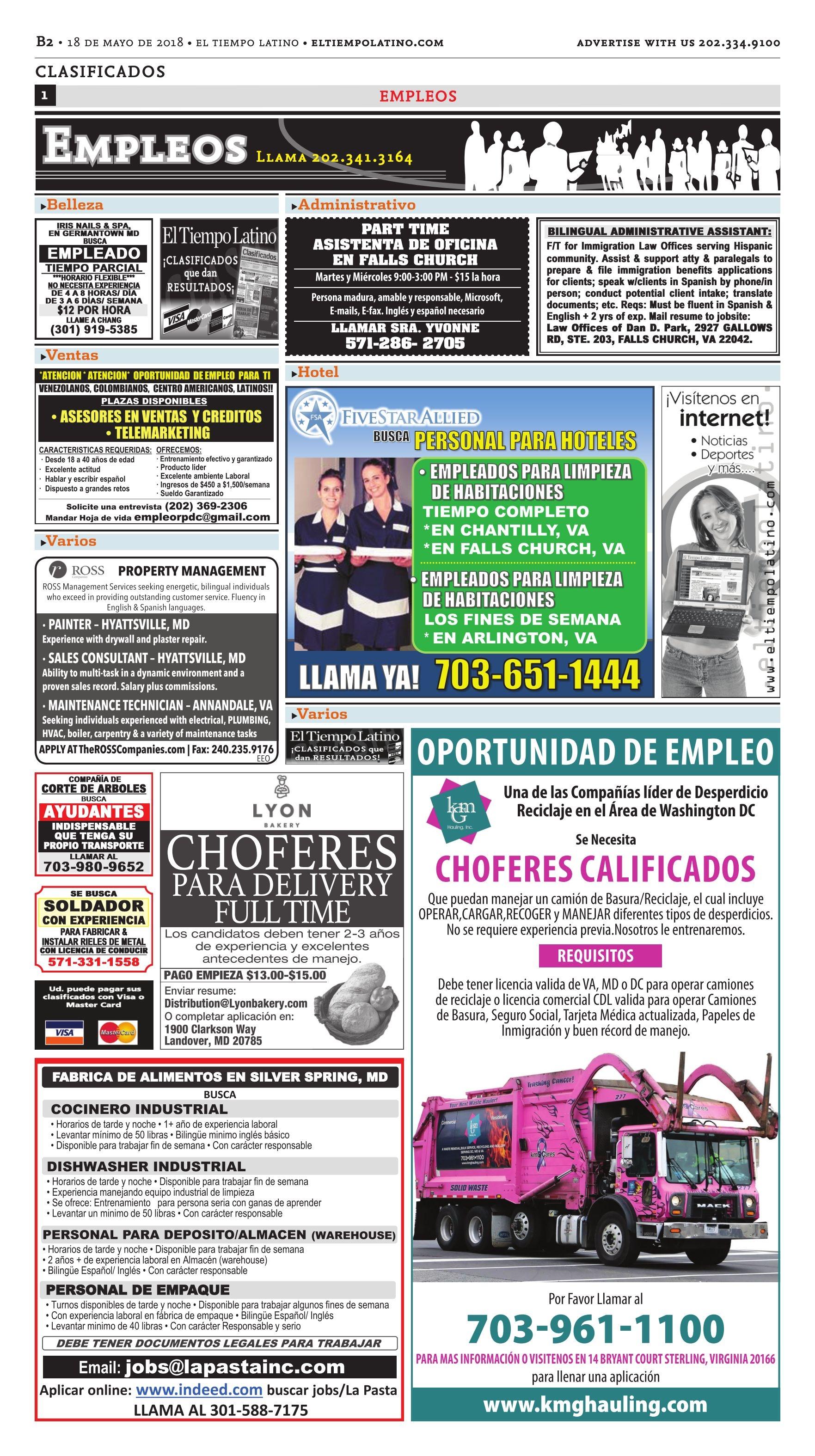 El Tiempo Latino, 05-18-2018 - Page 18