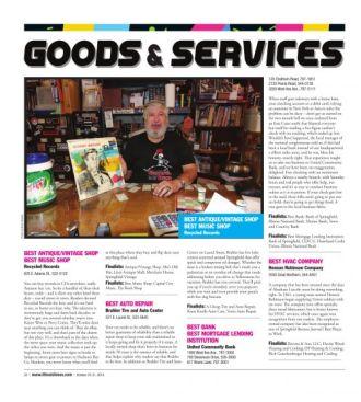 GOODS & SERVICES - IllinoisTimes